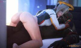 Overwatch Doomfist banging Mercy