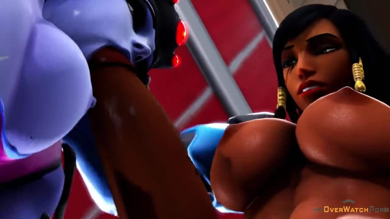 FUTA 3D – Symmetra and Widowmaker have fun