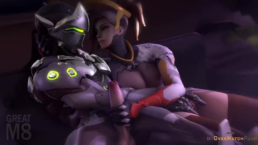 Genji and Mercy Masturbation