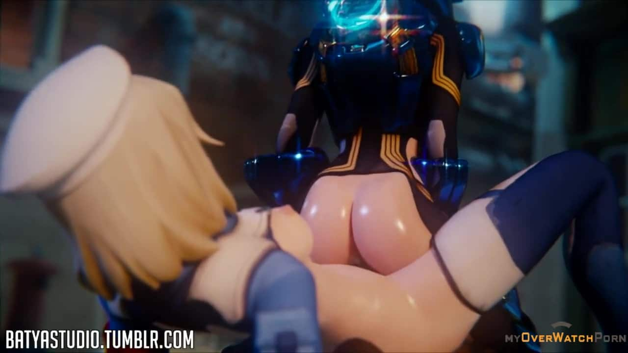 Tracer and Mercy roleplay