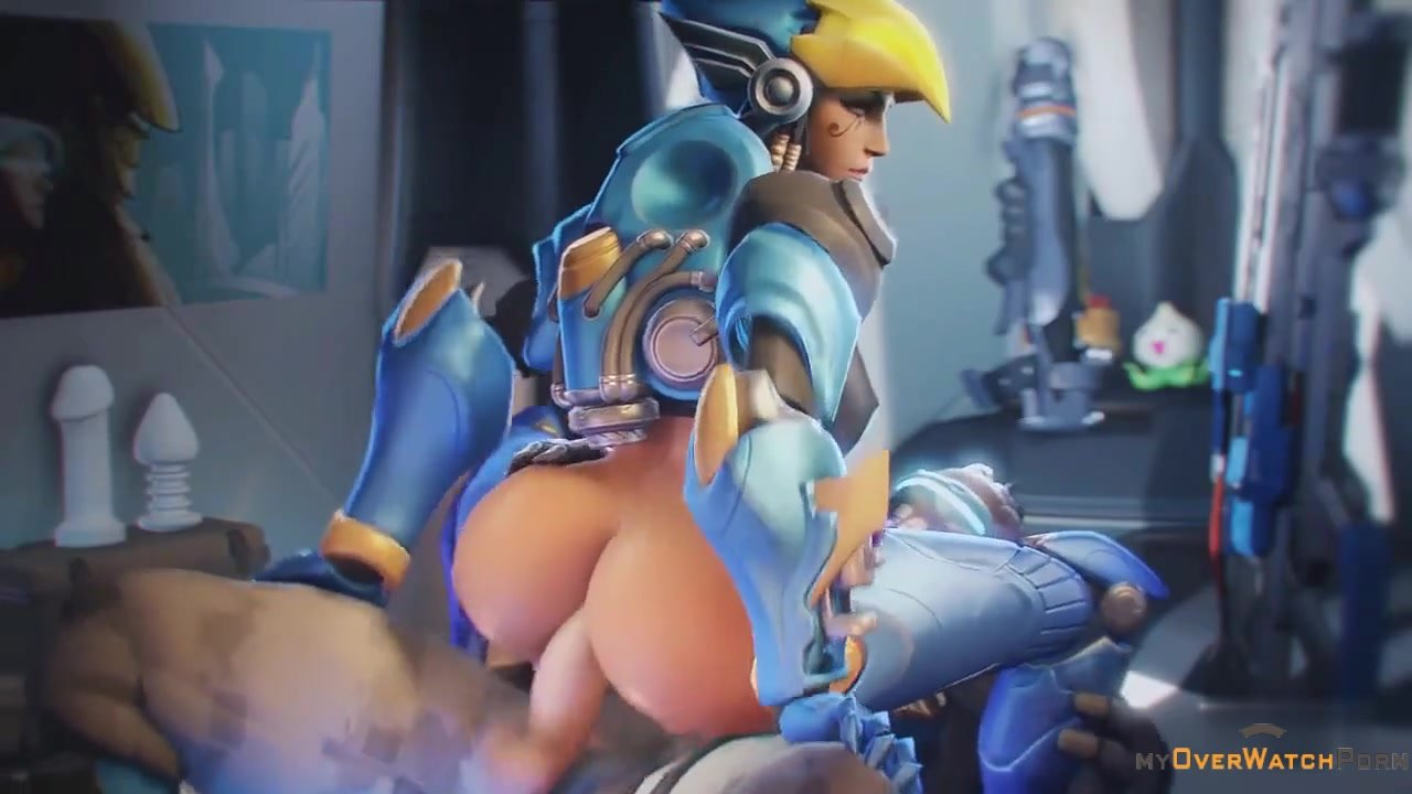 Pharah Anal Cock Riding