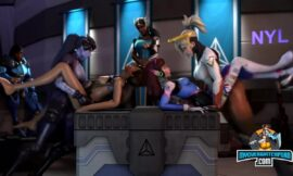 OverWatch Awesome FUTA Gang Bang