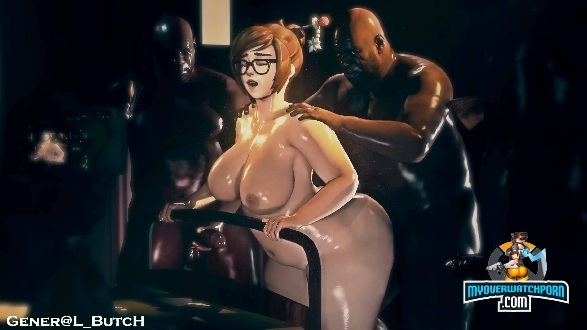 Mei Big Black Dick Gangbang